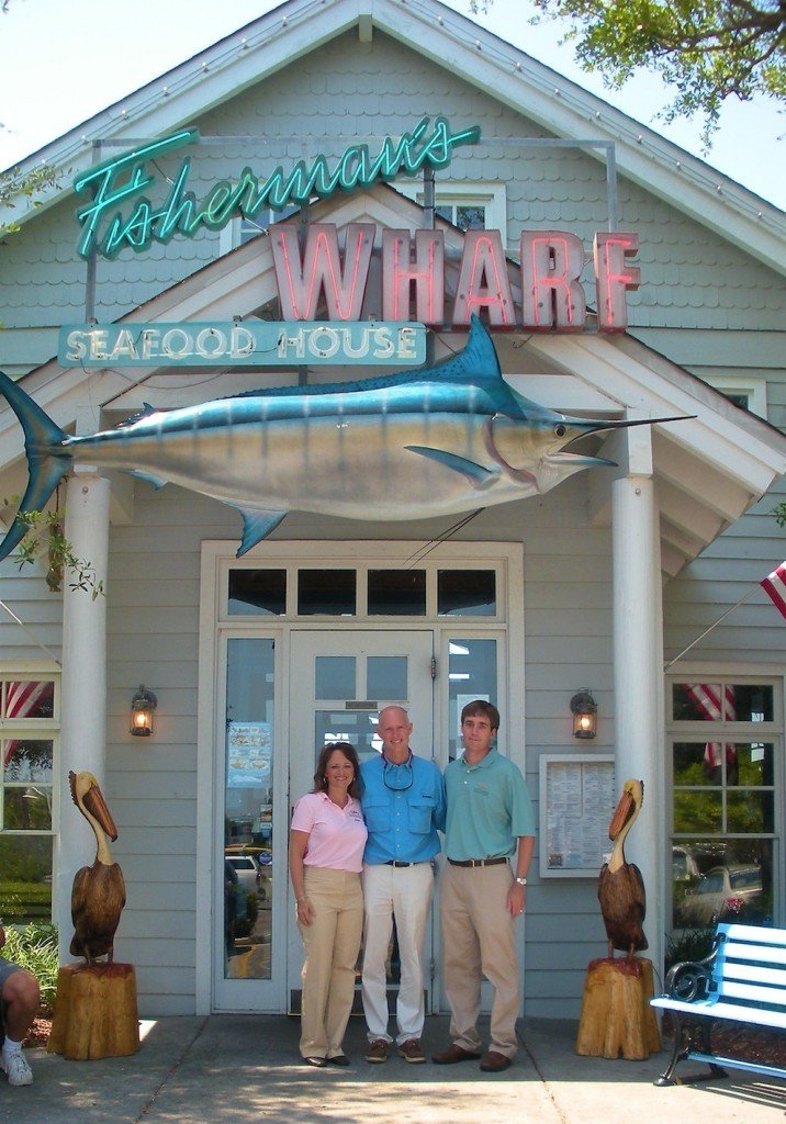 Angie Eckman of ADWORX, Florida Governor Rick Scott, John Comer, President of Southern Restaurant Group