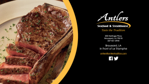 Antlers Seafood & Steakhouse Web Design