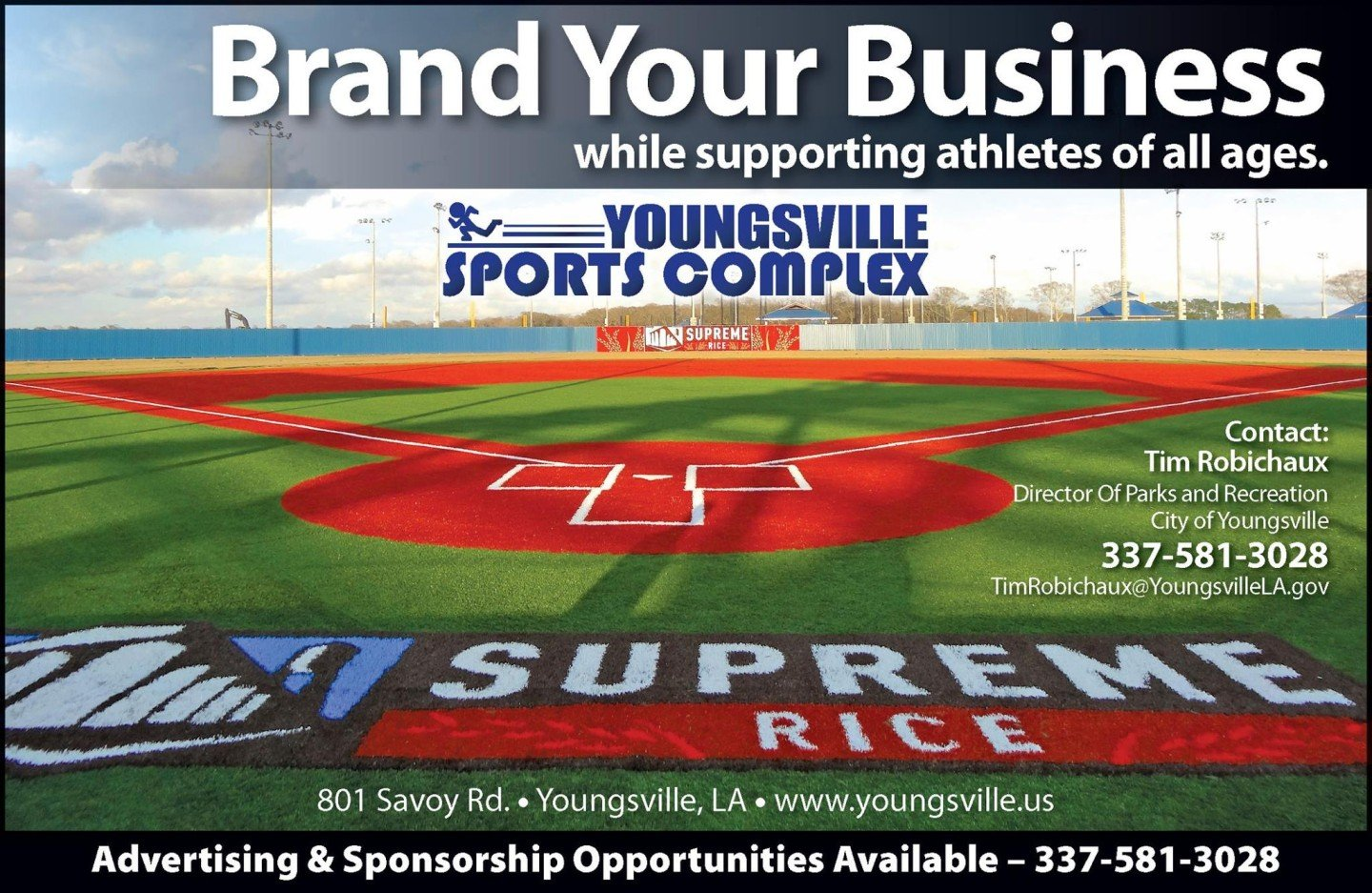 Sports Complex Marketing and Advertising